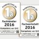 Auszeichnungen 2016